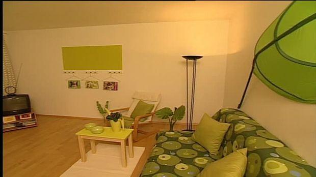 wohnzimmer gr n gestalten akzente setzen sat ratgeber. Black Bedroom Furniture Sets. Home Design Ideas