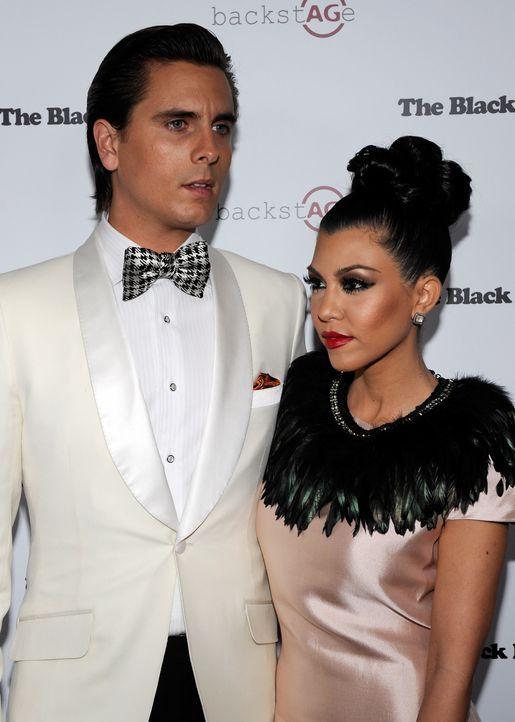 Kourtney Kardashian und Scott Disick  - Bildquelle: AFP