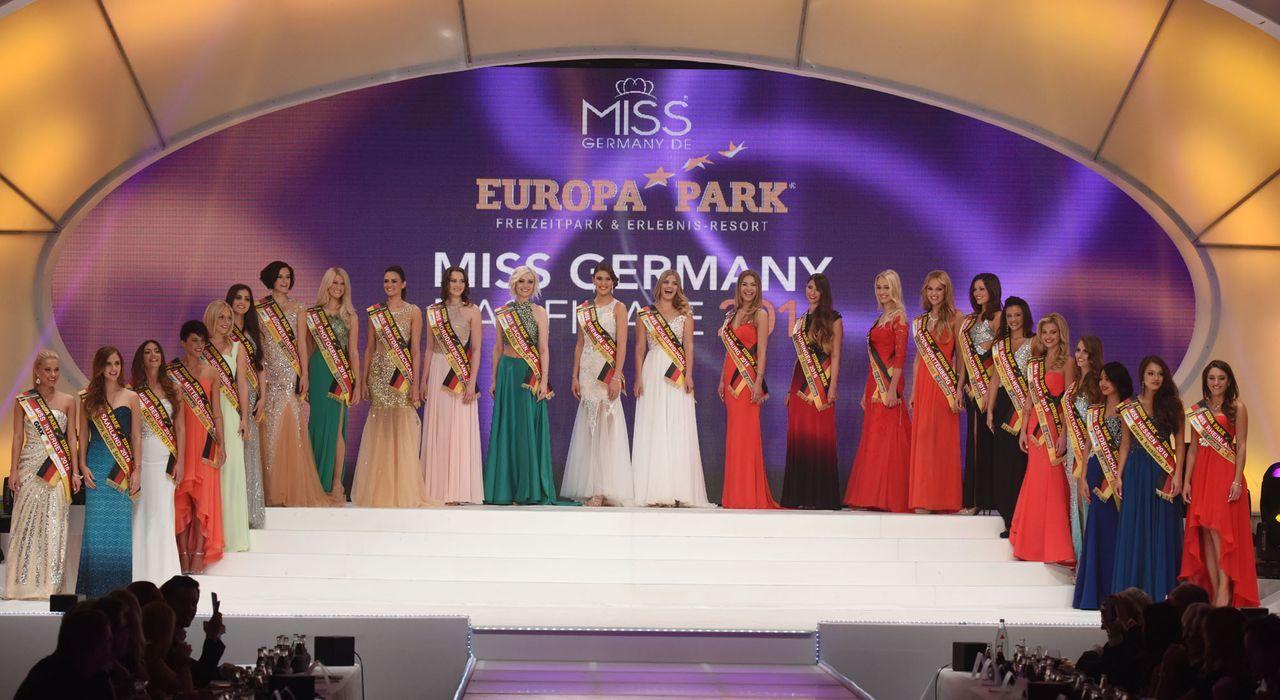 Miss-Germany-Gewinnerin-Teilnehmer-2-dpa - Bildquelle: dpa
