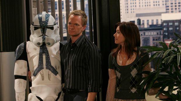 Lily (Alyson Hannigan, l.) ist in ihre neue Wohnung eingezogen. Allerdings st...