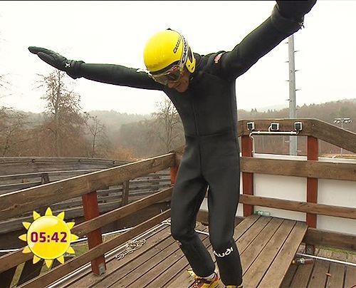 fruehstuecksfernsehen-jan-hahn-skispringen-008 - Bildquelle: Sat.1
