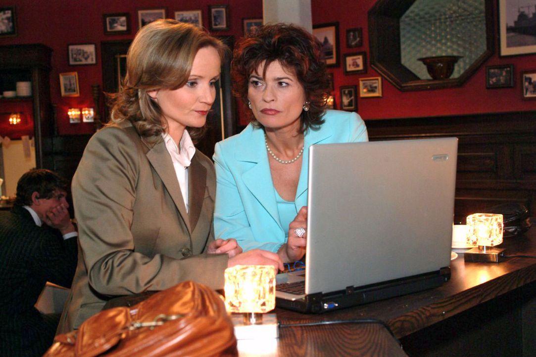 Sophie (Gabrielle Scharnitzky, r.) und die TV-Journalistin Karen Stemmler (Cathlen Gawlich, l.) führen nichts Gutes im Schilde... - Bildquelle: Monika Schürle Sat.1