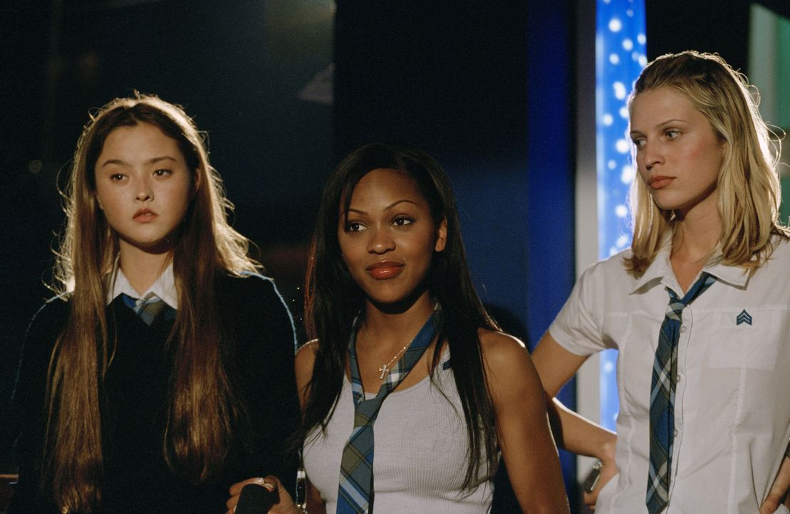 Kämpfen gegen das Böse: Max (Meagan Good, M.), Dominique (Devon Aoki, l.) und Amy (Sara Foster, r.) ... - Bildquelle: Copyright   2005 Screen Gems, Inc. All Rights Reserved.