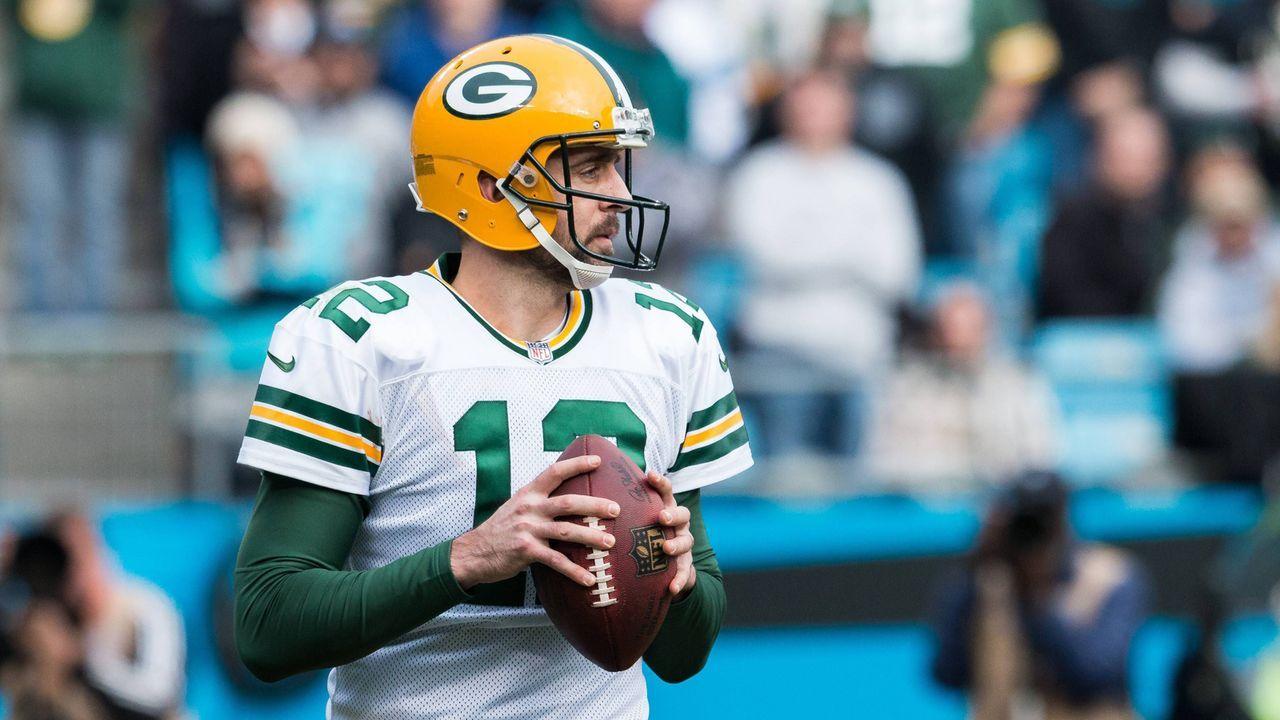 Platz 1: Aaron Rodgers (Green Bay Packers) - Bildquelle: Imaog