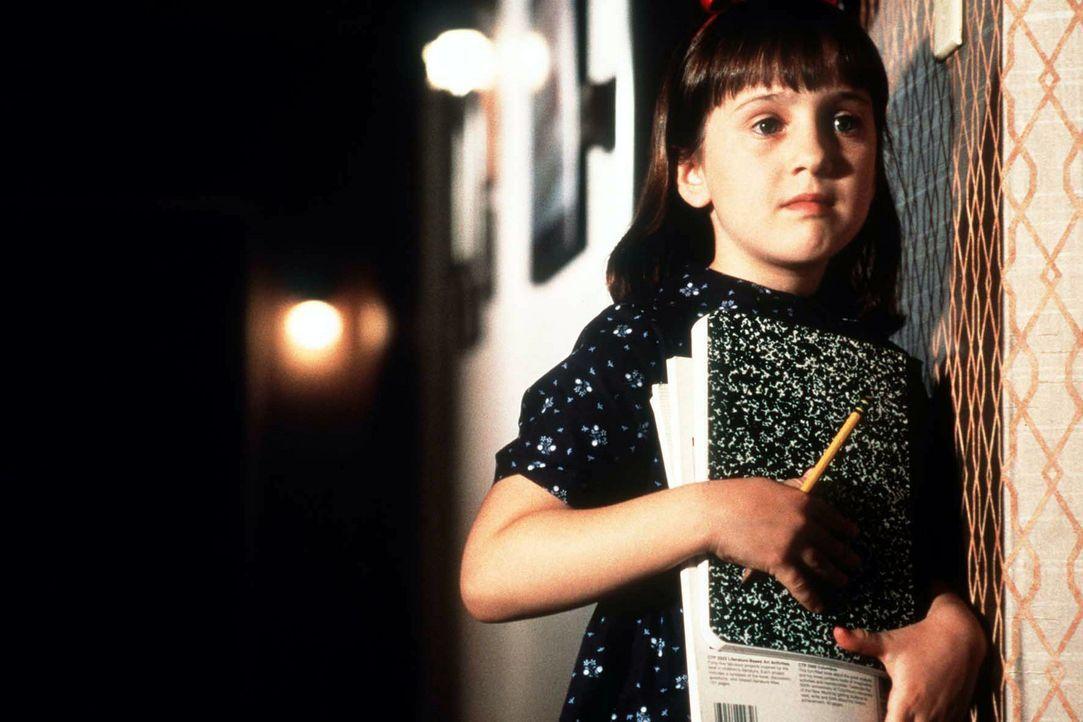 Die kleine Matilda (Mara Wilson) ist ein Wunderkind - und niemand bemerkt es ... - Bildquelle: Columbia TriStar