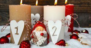 Ob mit Teelichtern oder Stumpenkerzen – möchten Sie Adventsgestecke selber ma...
