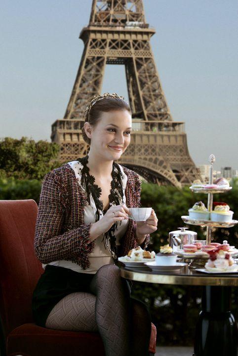 Gibt sich trotz ihres Liebeskummers große Mühe, sich in Paris zu amüsieren: Blair (Leighton Meester) ... - Bildquelle: Warner Brothers