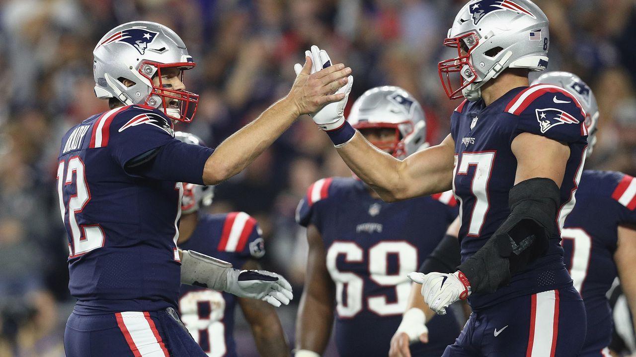 4. Platz: New England Patriots (3:2, vorige Woche: Platz 6) - Bildquelle: Getty