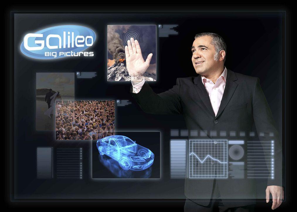 """""""Galileo Big Pictures"""" wird von Aiman Abdallah präsentiert. - Bildquelle: Benedikt Müller ProSieben"""