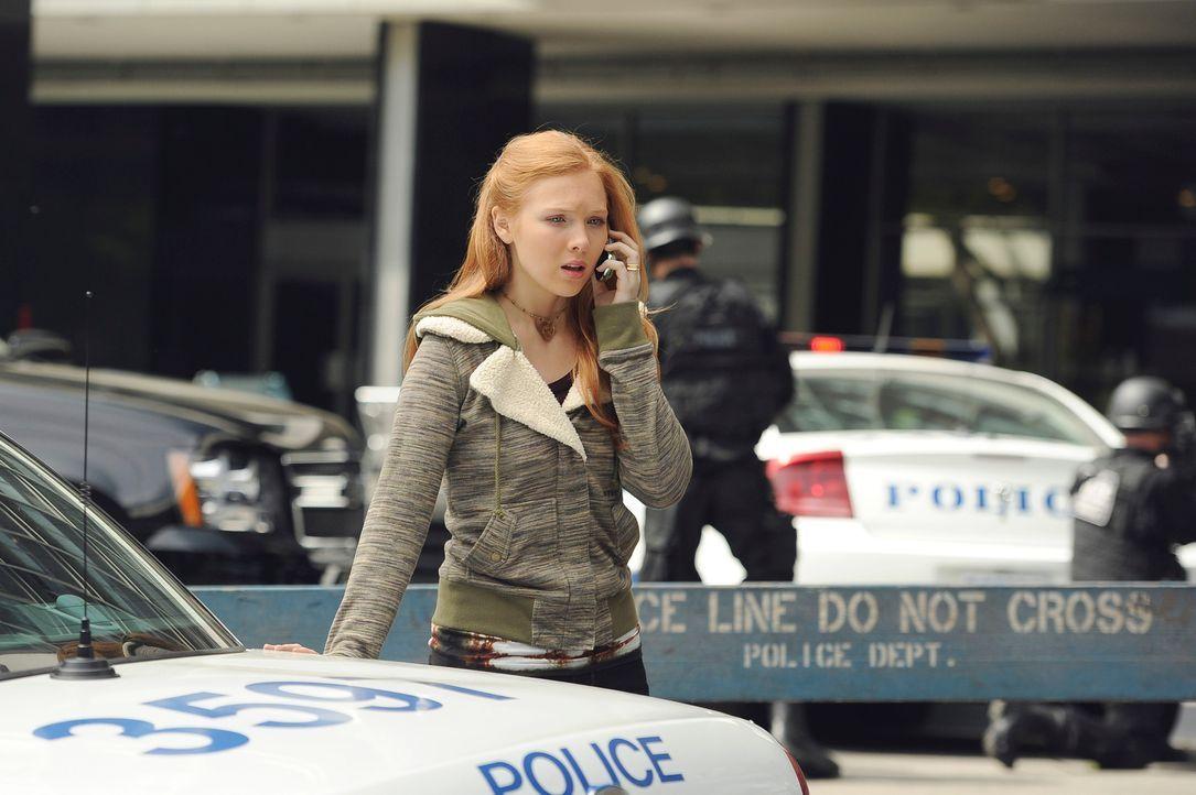 Macht sich große Sorgen um ihren Vater: Alexis Castle (Molly C. Quinn) - Bildquelle: 2011 American Broadcasting Companies, Inc. All rights reserved.