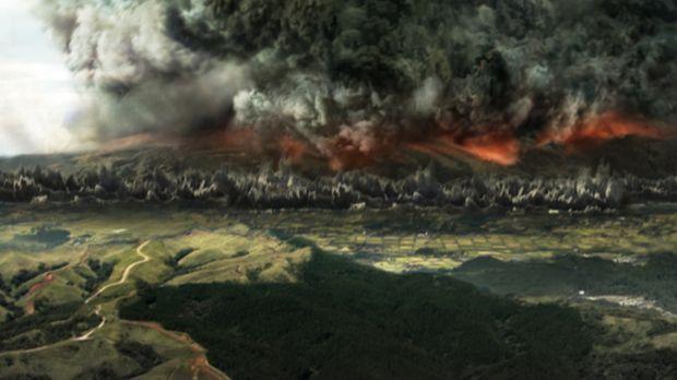 Die tektonische Platte, auf der die japanischen Inseln liegen, rutscht langsa...