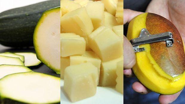 Collage-Mango-Zucchini-Käse