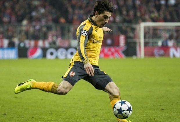 Sein Treffer reichte nicht zum Sieg: Hector Bellerin