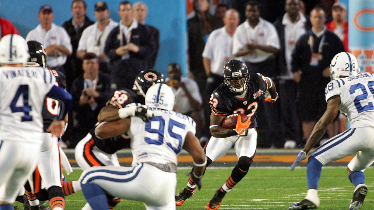 Super Bowl 2007: Indianapolis Colts (29:17 gegen die Chicago Bears) - Bildquelle: Imago
