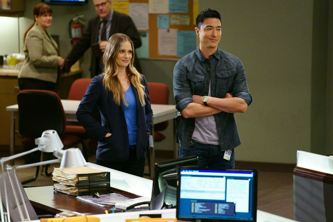 Um einen neuen Fall zu lösen, müssen die Teams von JJ (A.J. Cook, l.) und Matthew Simmons (Daniel Henney, r.) zusammenarbeiten ... - Bildquelle: ABC Studios