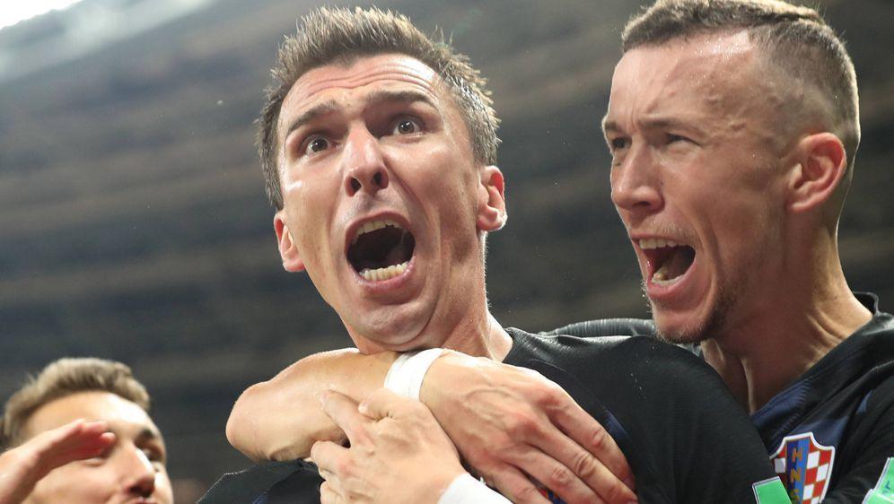 Mario Mandzukic: Alle Emotionen auf einmal. - Bildquelle: imago/Xinhua