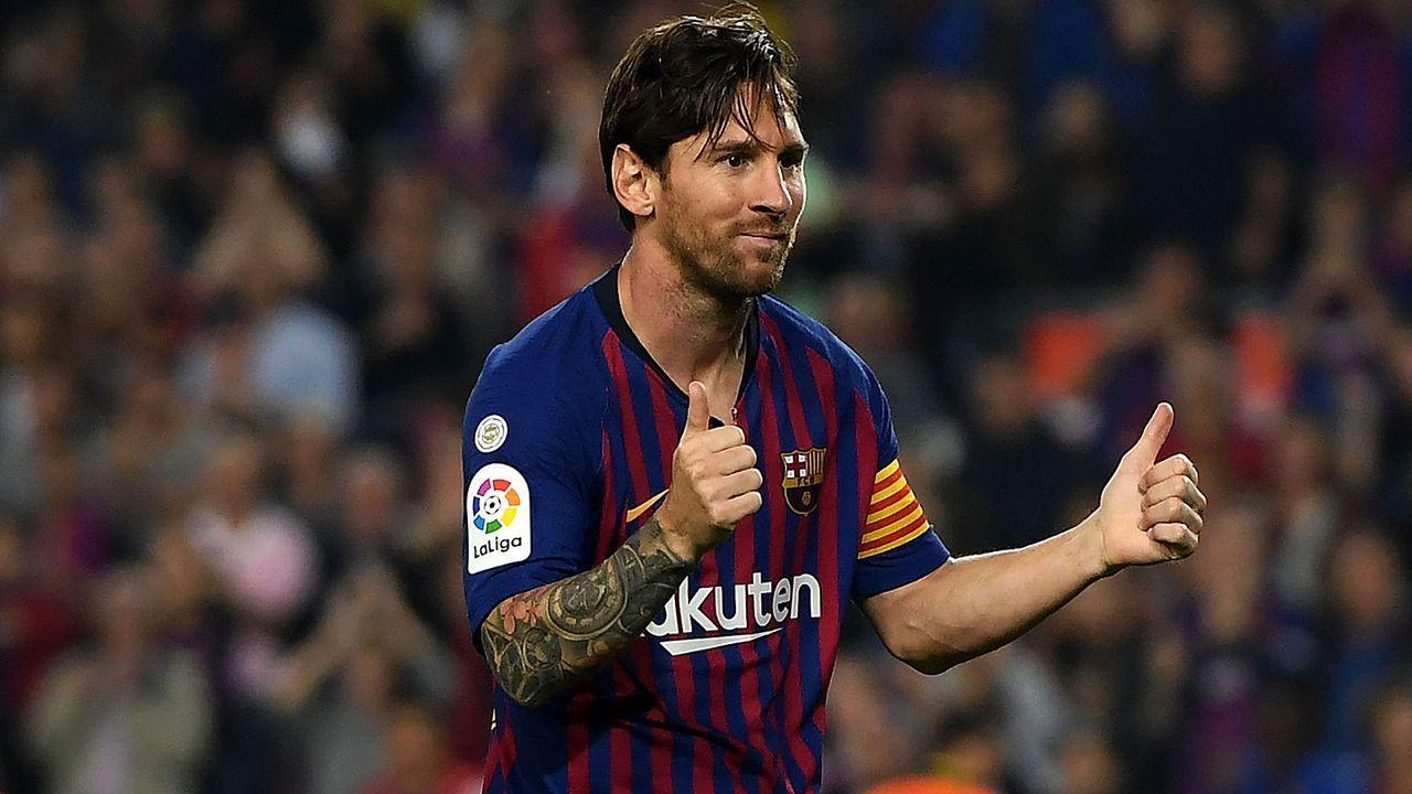 Mittelstürmer: Lionel Messi - Bildquelle: 2018 Getty Images