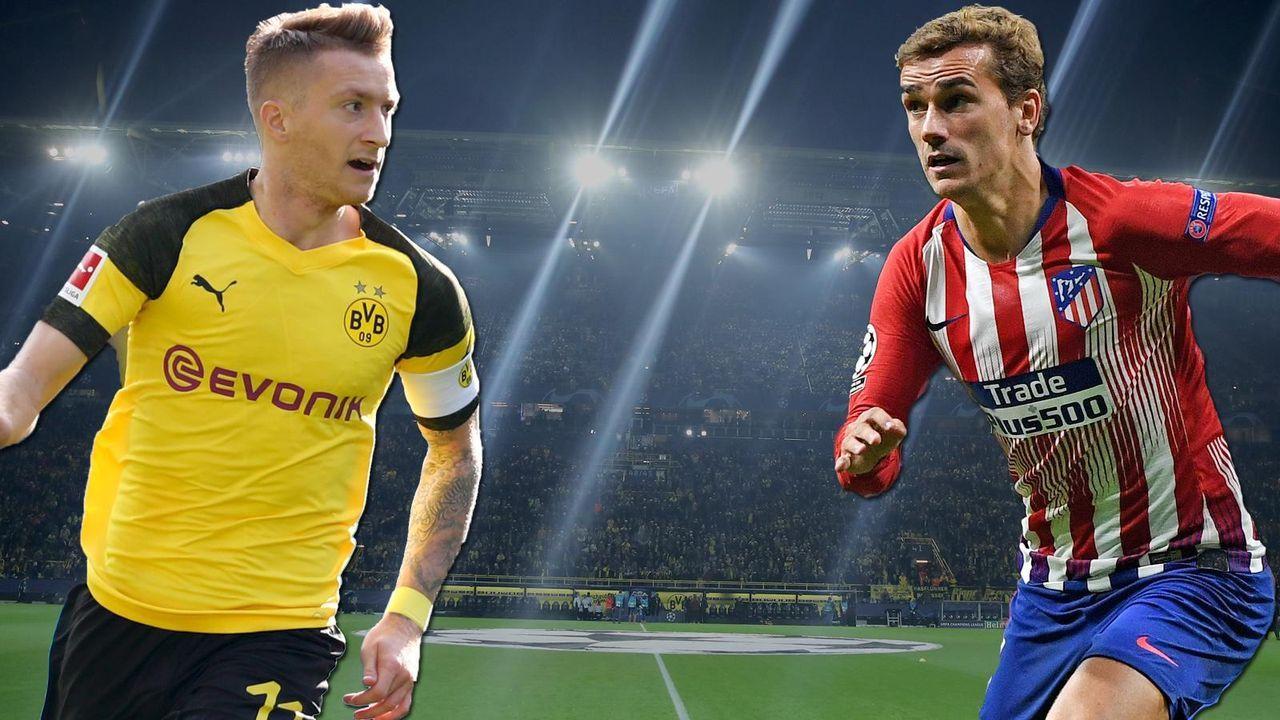 Borussia Dortmund gegen Atletico Madrid – Die Schlüsselduelle - Bildquelle: getty