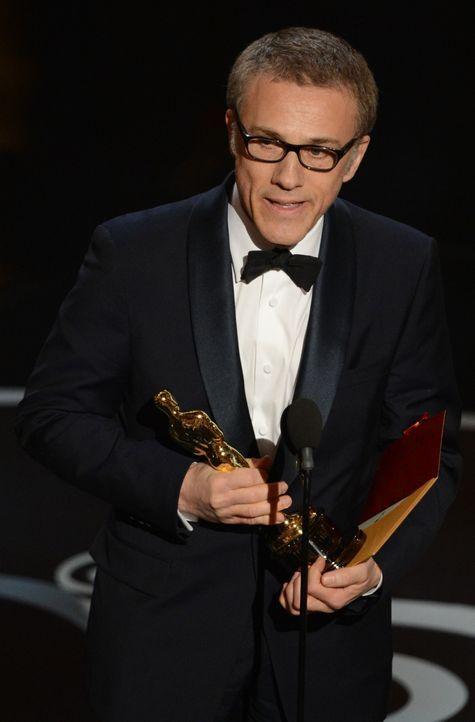 Christoph Waltz gewinnt Oscar als Bester Nebendarsteller - Bildquelle: AFP