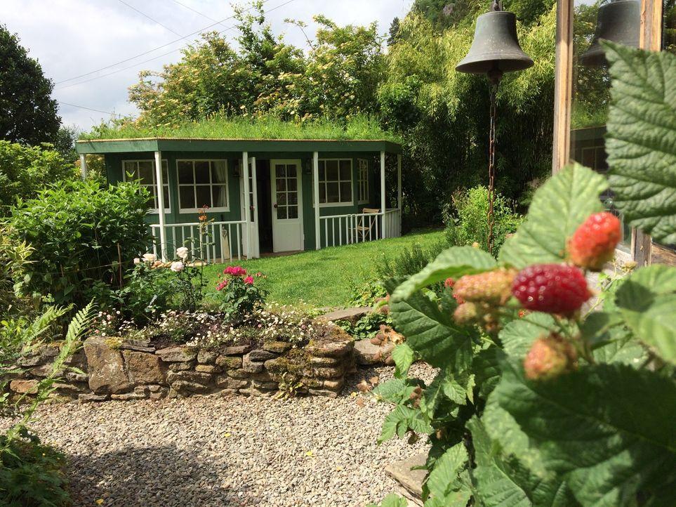 George trifft dieses Mal auf einen Großvater, der in seinem Garten ein kleines Cricket Clubhaus aufstellen möchte. Allerdings haben seine Pläne, die... - Bildquelle: Plum Pictures
