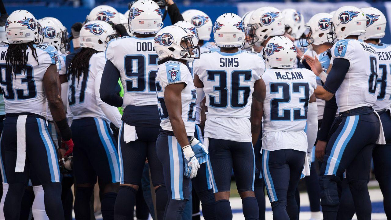 Tennessee Titans (4 Spieler) - Bildquelle: imago/Icon SMI