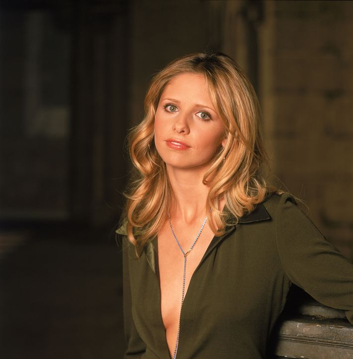 (5. Staffel) - So leicht lässt sich Buffy (Sarah Michelle Gellar) nicht unterkriegen ... - Bildquelle: 2000-2001 Twentieth Century Fox Film Corporation. All rights reserved.