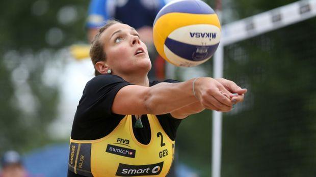 beachvolleyball halbfinale live