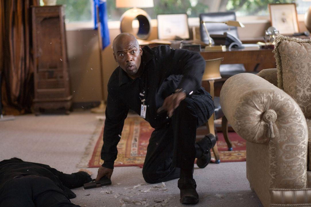 "Im Kreuzfeuer: Neil Shaw (Anthony ""Treach"" Criss) ... - Bildquelle: 2009 Sony Pictures Home Entertainment Inc. All Rights Reserved."