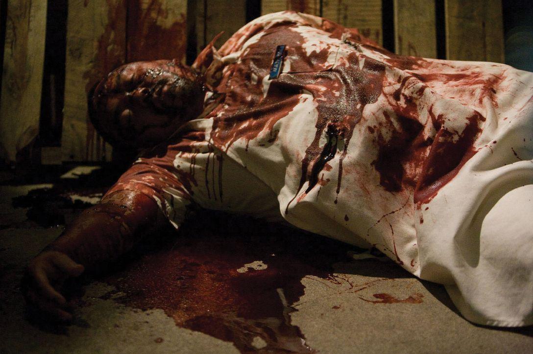 Frisches Gemüse im ersten Gang, frische Leichen im ganzen Geschäft. Im Supermarkt von Hastings geschieht etwas Furchtbares ... - Bildquelle: 2007 Warner Bros. Entertainment INC.