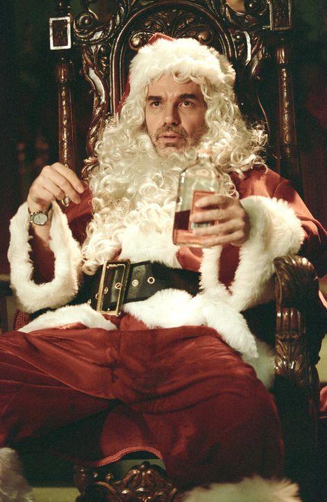 Jedes Jahr arbeitet Willie T. Stokes (Billy Bob Thornton) als Kaufhaus-Weihnachtsmann, doch besonders gut in seinem Job ist er ganz und gar nicht: S... - Bildquelle: 2006 Sony Pictures Television International.