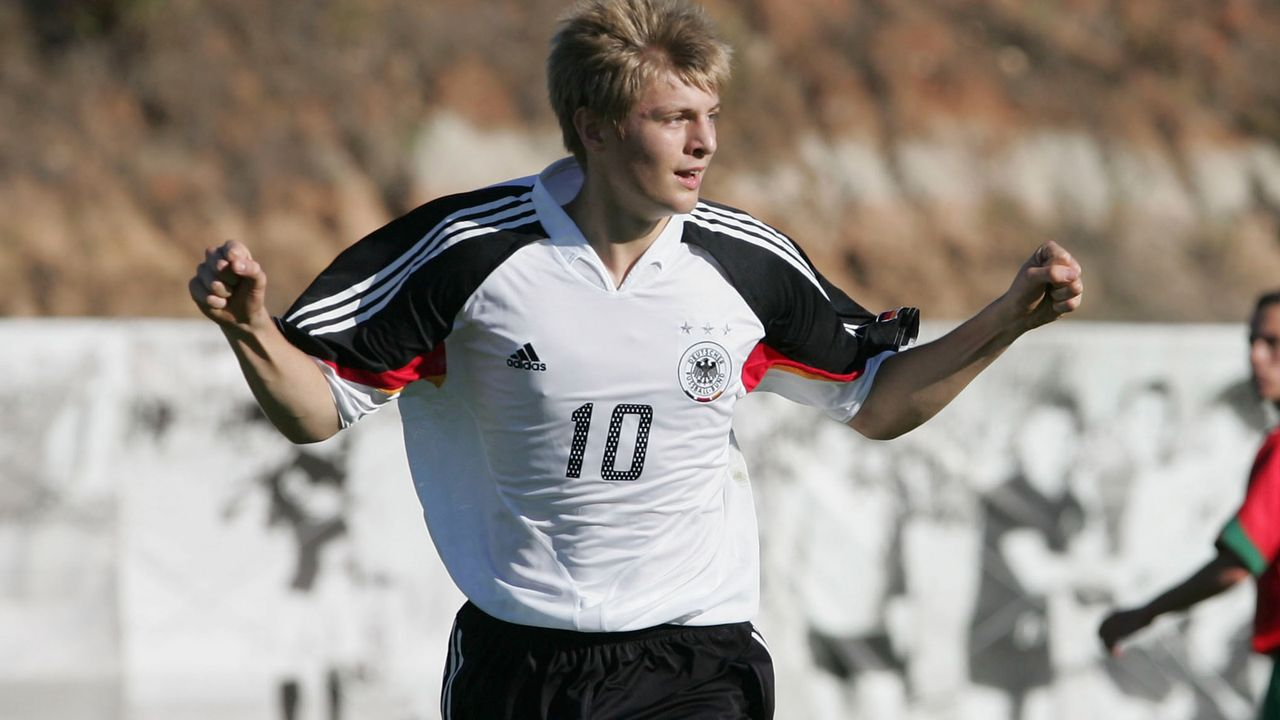 Toni Kroos - Bildquelle: 2005 Getty Images