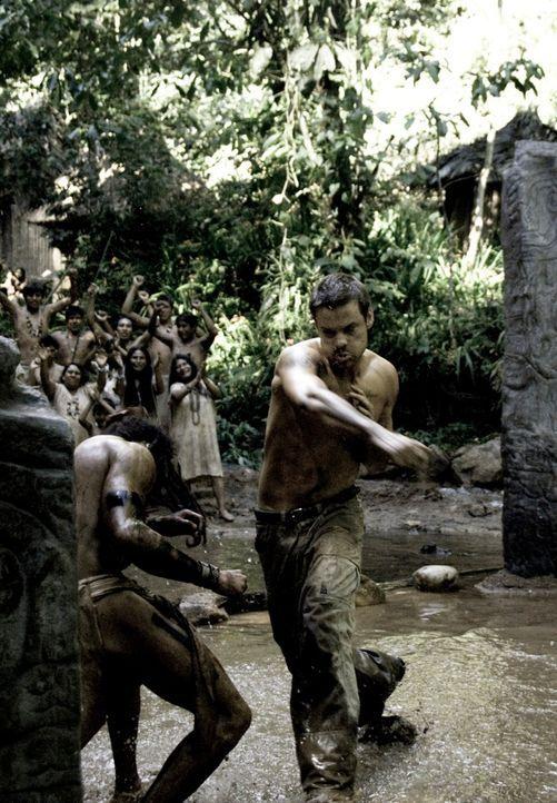 Ein Kampf auf Leben und Tod beginnt: Jack (Shane West, r.) ...