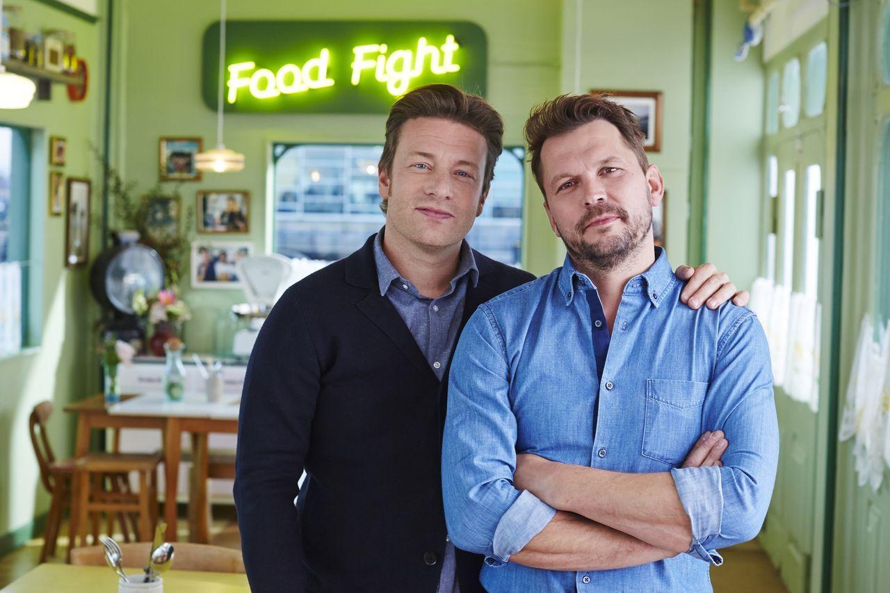 Jamie Oliver - Salma Hayek - sixx