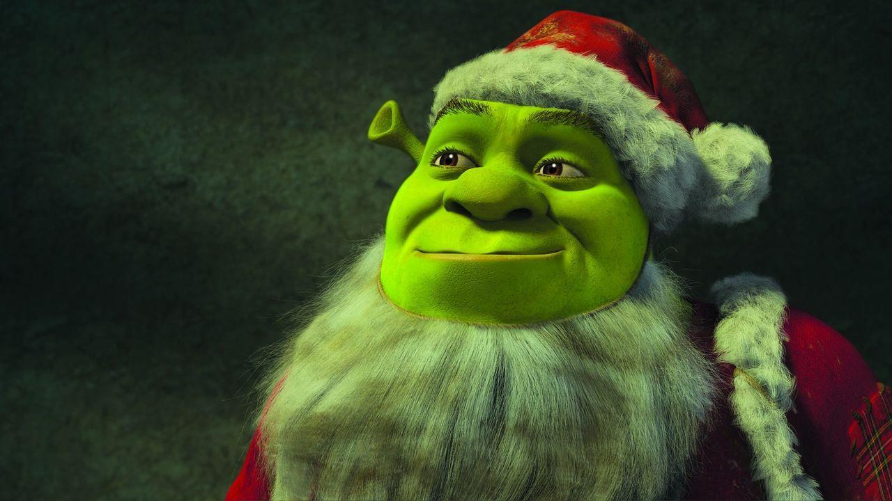 Weihnachtsmann Shrek ... - Bildquelle: 2007   DreamWorks Animation LLC. All rights reserved.