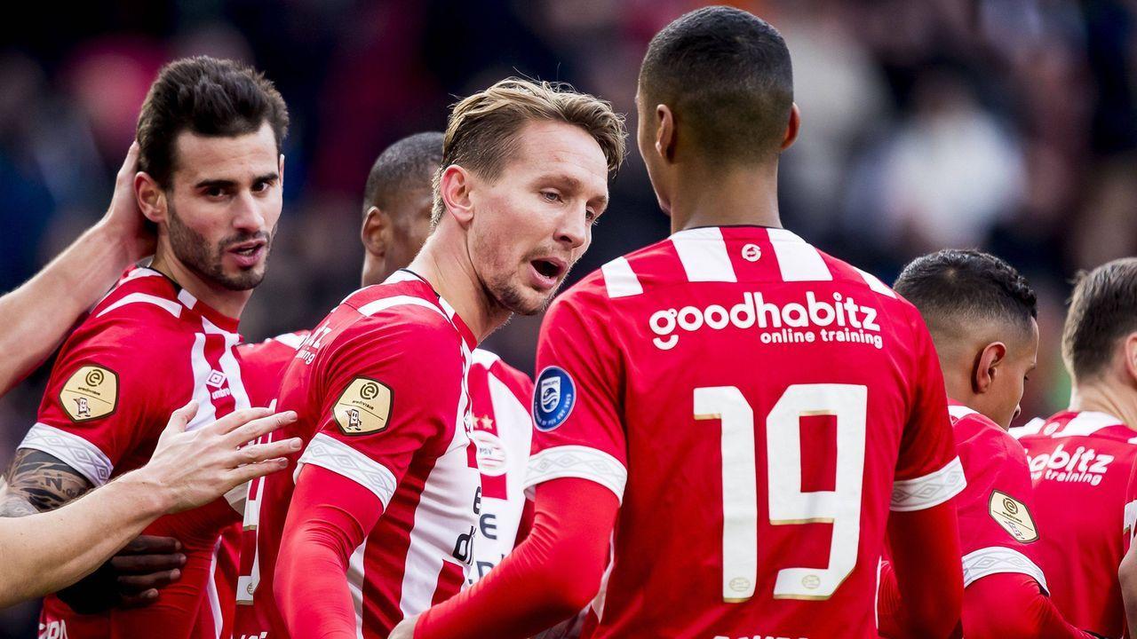 Platz 5 - PSV Eindhoven - Bildquelle: imago/Pro Shots