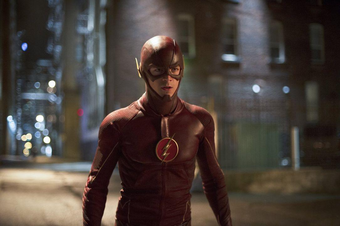 Ein neues Metawesen bedroht Central City. Ray Bivolo besitzt eine Kraft, mit der er die Gefühle anderer Menschen beeinflussen kann. Barry alias The... - Bildquelle: Warner Brothers.