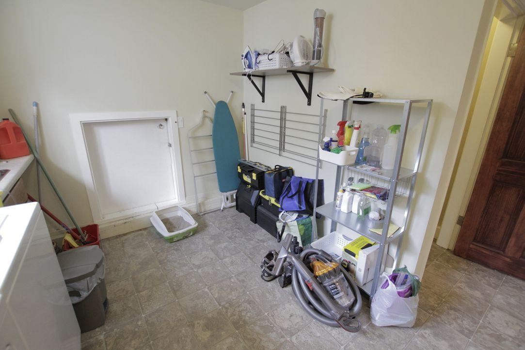 Der Umbau von einem normalen Kellerraum in ein Badezimmer - aufwendig, aber machbar. Das Bad für Übernachtungsgäste und Zocker-Freunde hat Jonathan... - Bildquelle: 2017,HGTV/Scripps Networks, LLC. All Rights Reserved