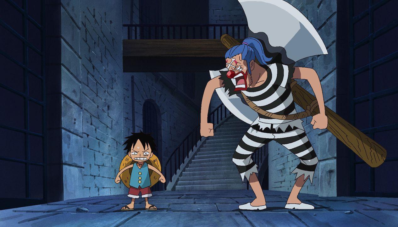 Endlich haben Hancock und ihre Begleitung Ebene 3 erreicht und kommen somit ... - Bildquelle: Eiichiro Oda/Shueisha, Toei Animation