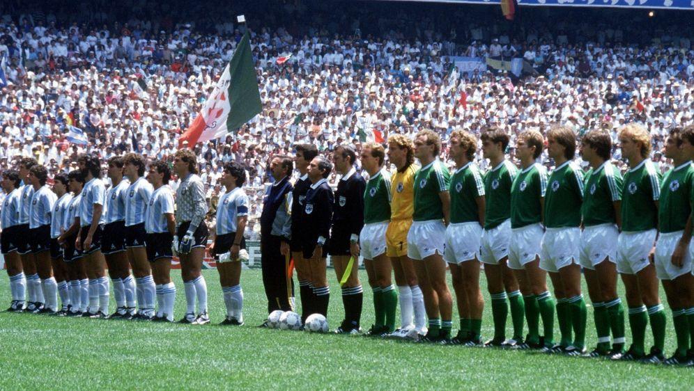 Das WM-Finale 1986 zwischen Argentinien und Deutschland - Bildquelle: PICTURE-ALLIANCEPICTURE-ALLIANCESIDSVEN SIMON