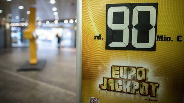 Eurojackpot mit 90 Millionen Euro geht nach Finnland