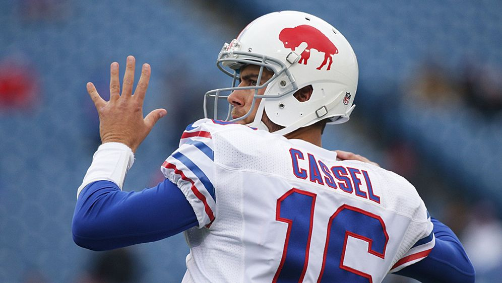 Matt Cassel spielte bisher für die New England Patriots, Kansas City Chiefs,... - Bildquelle: 2015 Getty Images