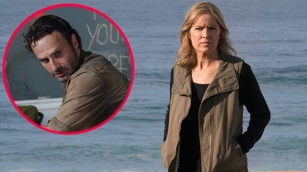 """""""The Walking Dead"""" meets """"Fear the Walking Dead"""": Sind di..."""