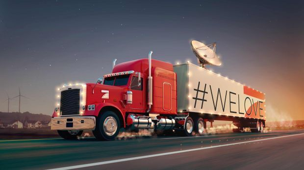 Der ProSieben Auswärtsspiel - Truck