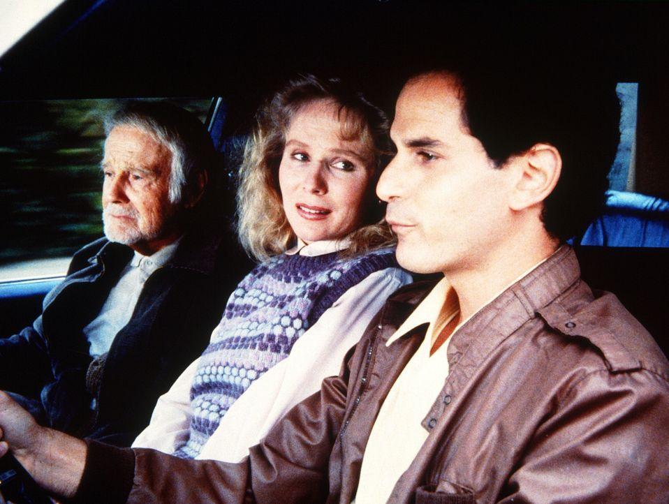Frank (Lew Ayres, l.), Zoe (Laurie Prange, M.) und Todd Worton (David Eisner, r.) fahren gemeinsam in die Ferien. - Bildquelle: Worldvision Enterprises, Inc.