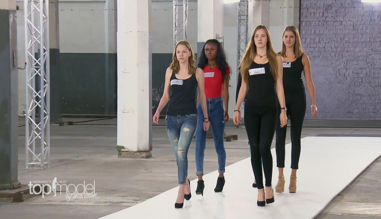 GNTM-S12-Sendung01-Casting-Muenchen30 - Bildquelle: ProSieben