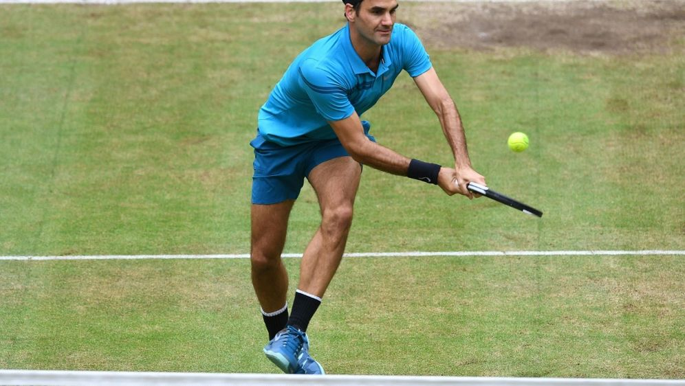 Federer verliert das Finale in Halle gegen Borna Coric - Bildquelle: AFPSIDCARMEN JASPERSEN
