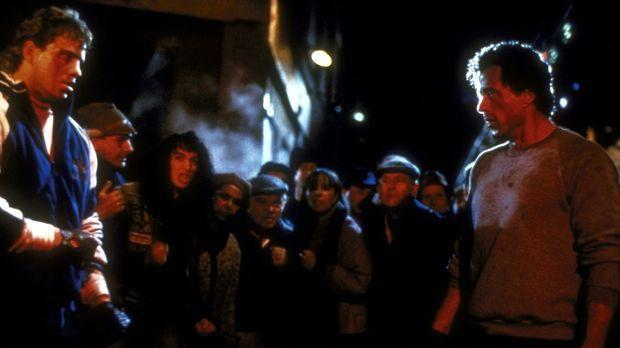 Undank ist der Welt Lohn: Rockys (Sylvester Stallone, r.) ehemaliger Schützli...