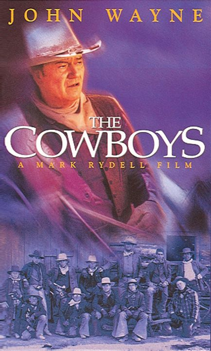 """""""Die Cowboys"""" - Plakatmotiv - Bildquelle: Warner Bros."""