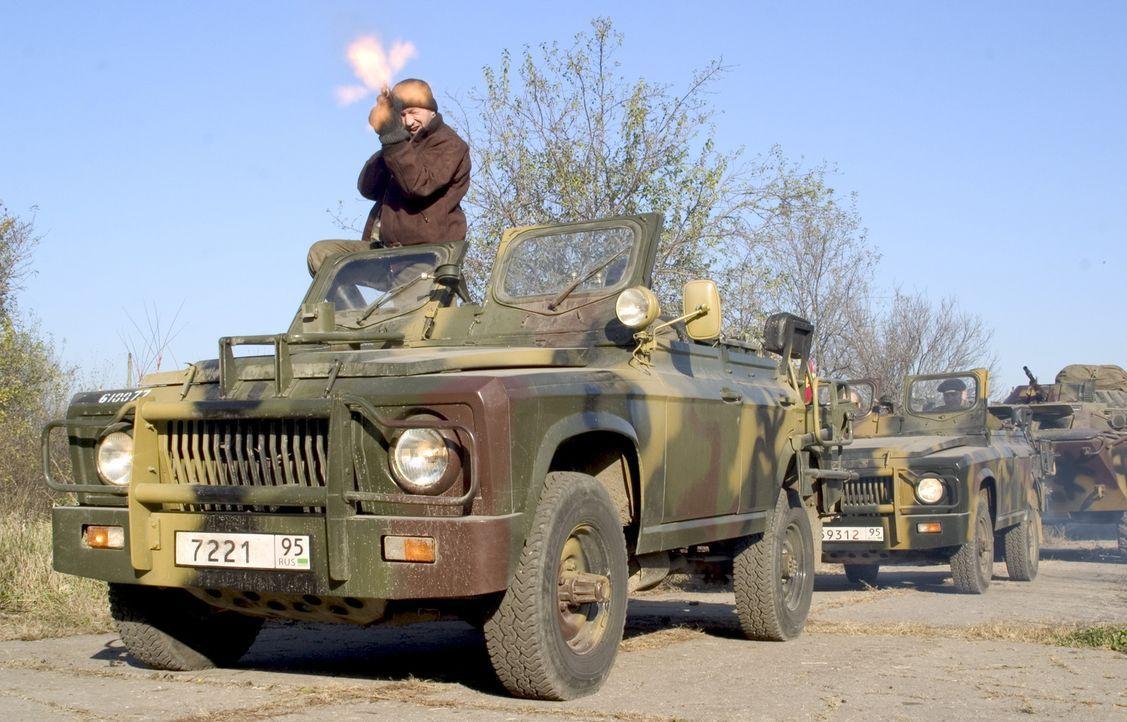 Ein abtrünniger Rotarmist wechselt die Seiten und bringt gemeinsam mit tschetschenischen Rebellen ein russisches AKW samt amerikanischen Technikerge... - Bildquelle: Sony 2007 CPT Holdings, Inc.  All Rights Reserved.