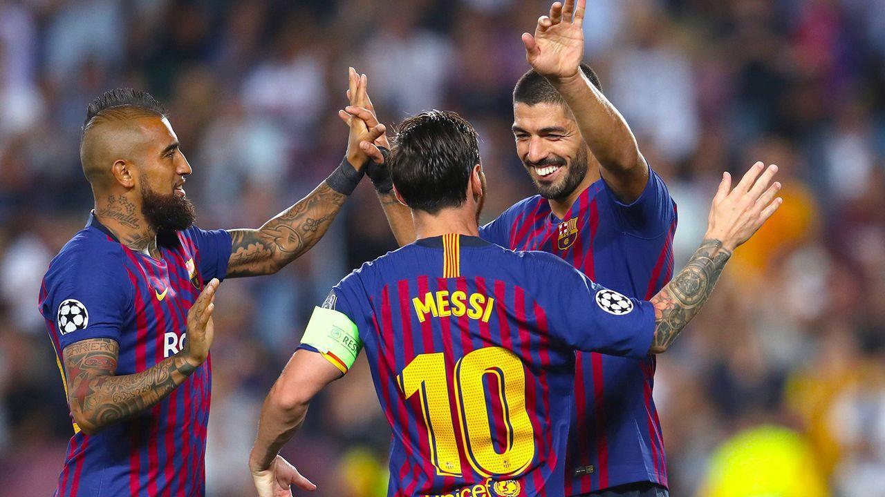 Platz 4: FC Barcelona - Bildquelle: imago/PA Images